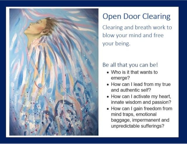 Open door front